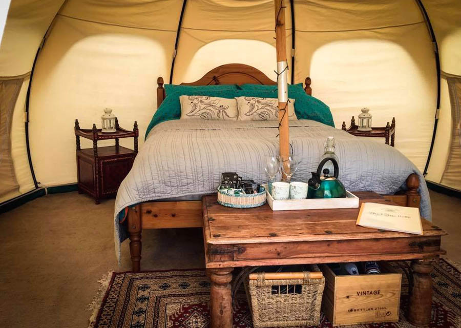 Eco Glamping facilities and location