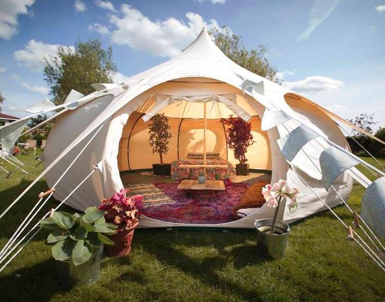 Day Break Lotus Belle Eco Glamping Tent