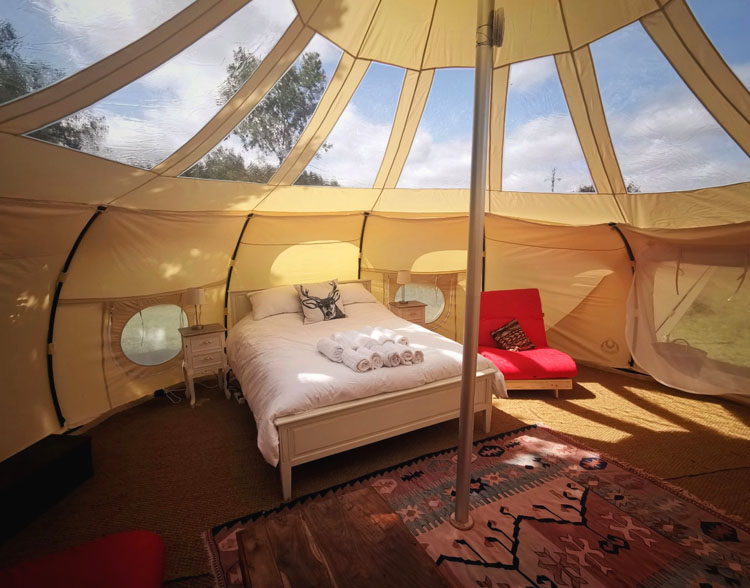 First Light Lotus Belle Eco Glamping Tent