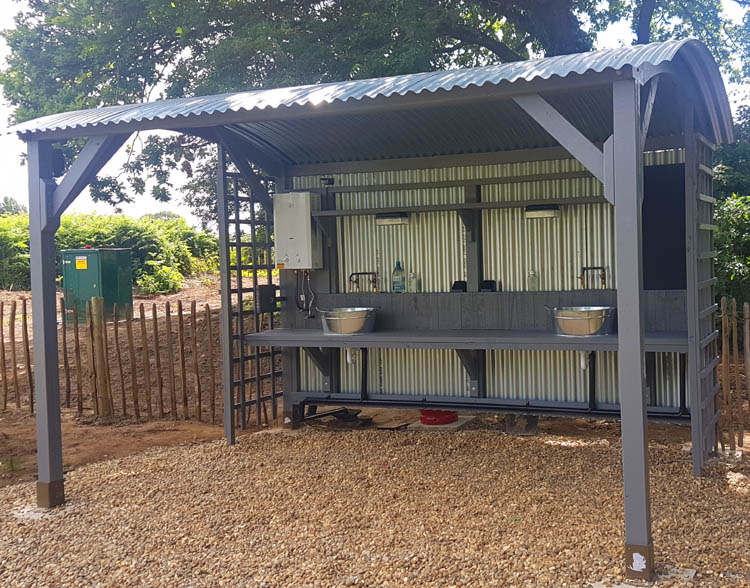 Grill and Chill Facilities at Sunrise Eco Glamping